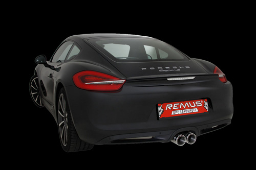 cesam accessoires tuning remus pour porsche cayman. Black Bedroom Furniture Sets. Home Design Ideas