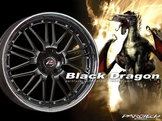 BLACK DRAGON - Un incroyable contraste !